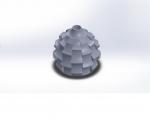 طراحی سه بعدی گلدان در نرم افزار سالیدورکز Solid Works